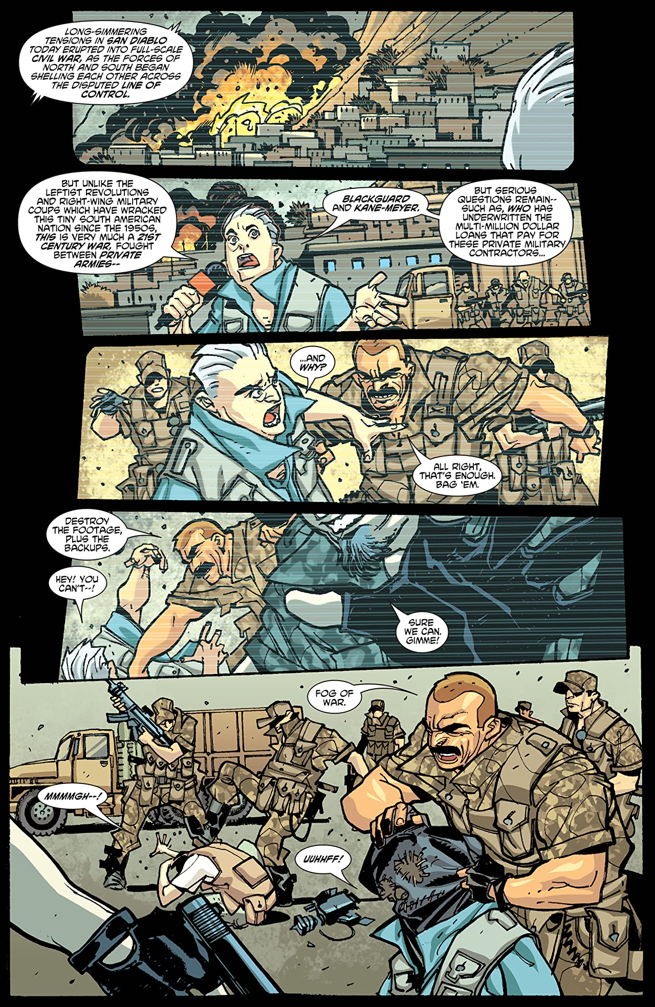 Six Guns (2011-2012) #5 (of 5)