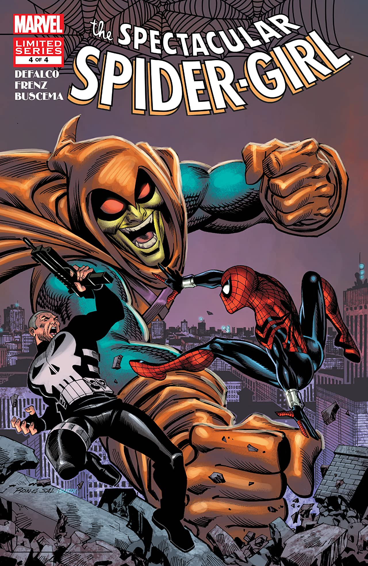 Spectacular Spider-Girl (2010) #4 (of 4)