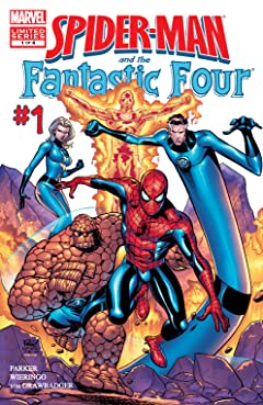 Spider-Man and the Fantastic Four (2007) #1 (of 4)