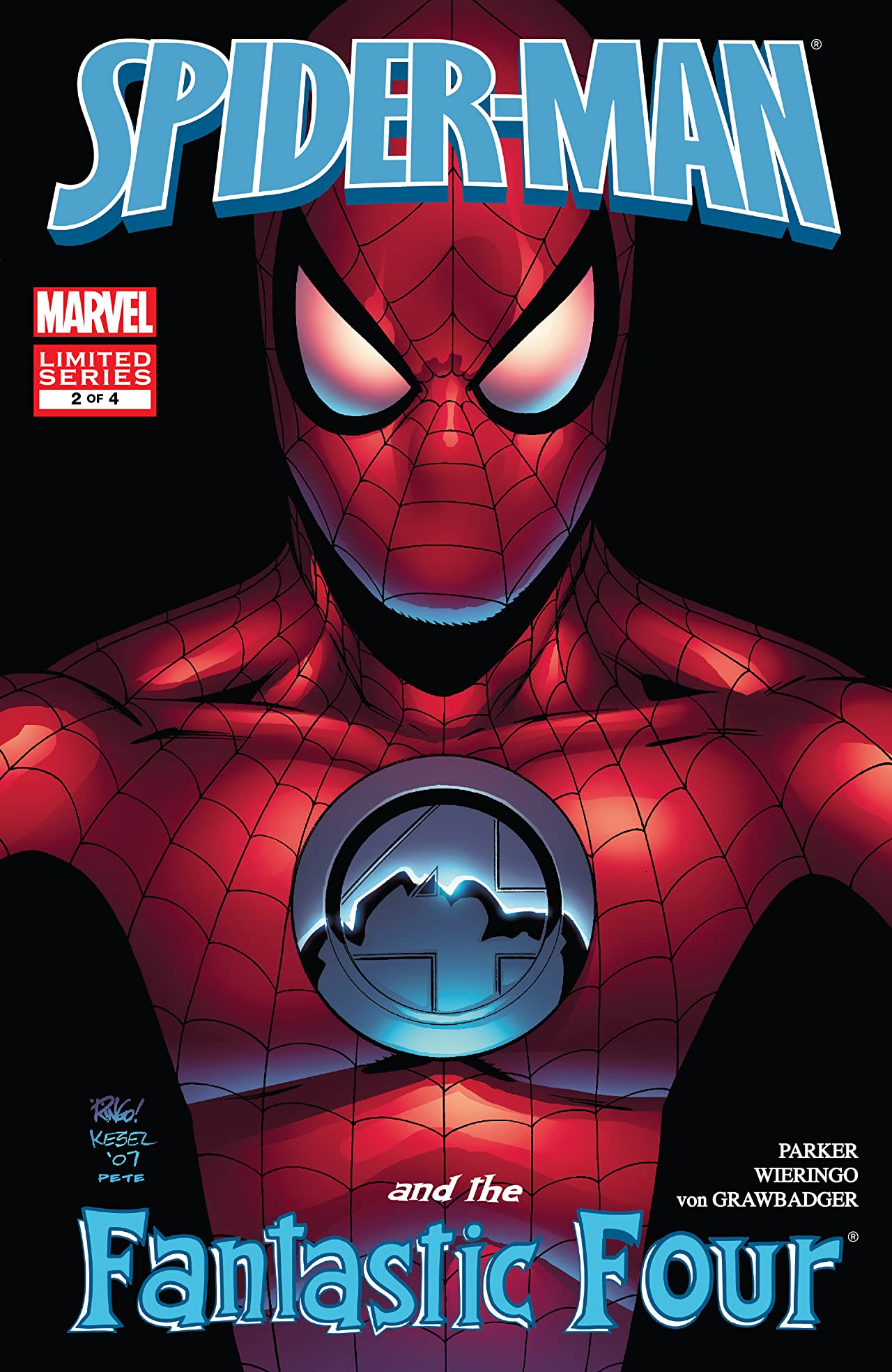 Spider-Man and the Fantastic Four (2007) #2 (of 4)