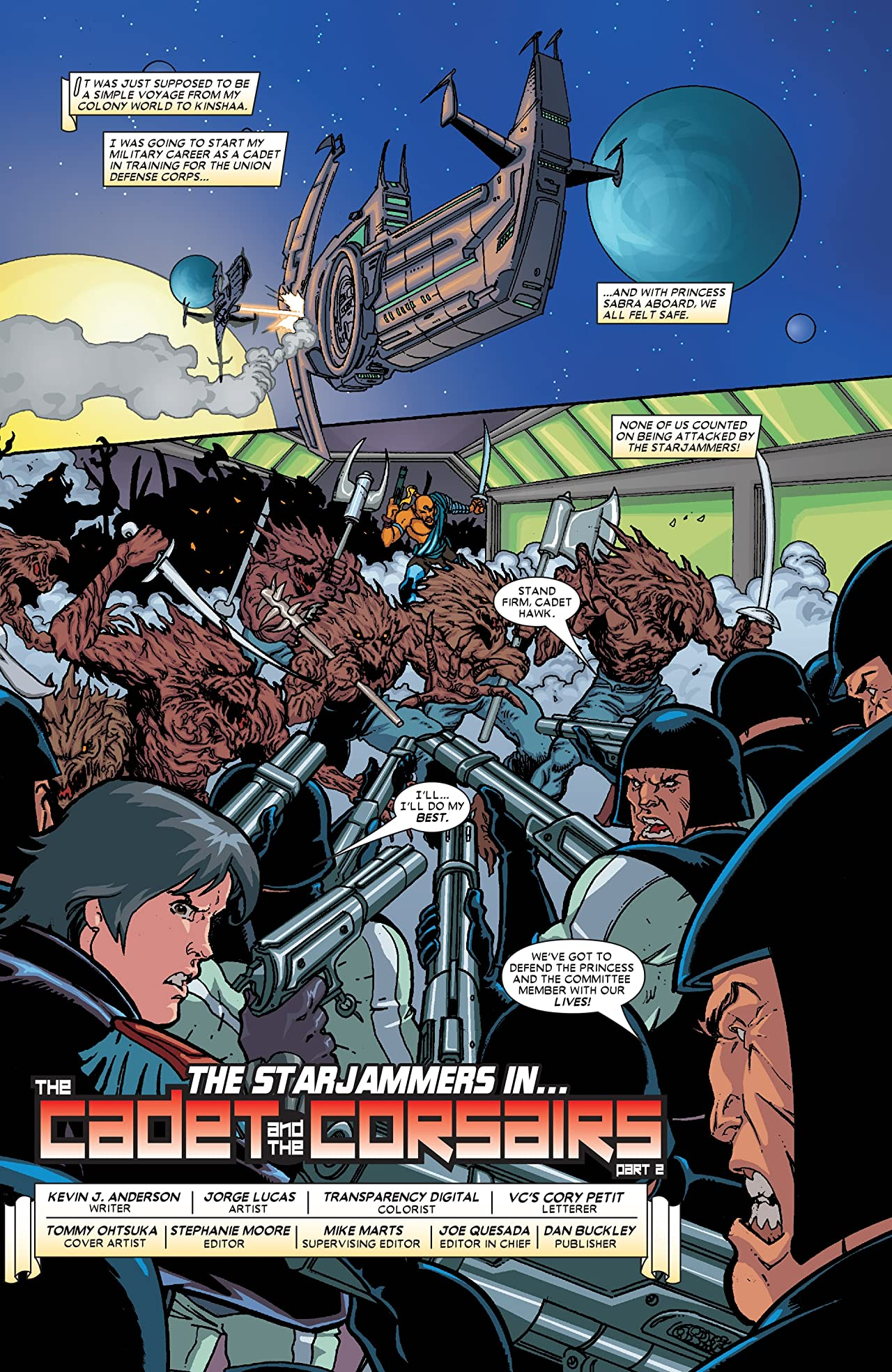 Starjammers (2004) #2 (of 6)