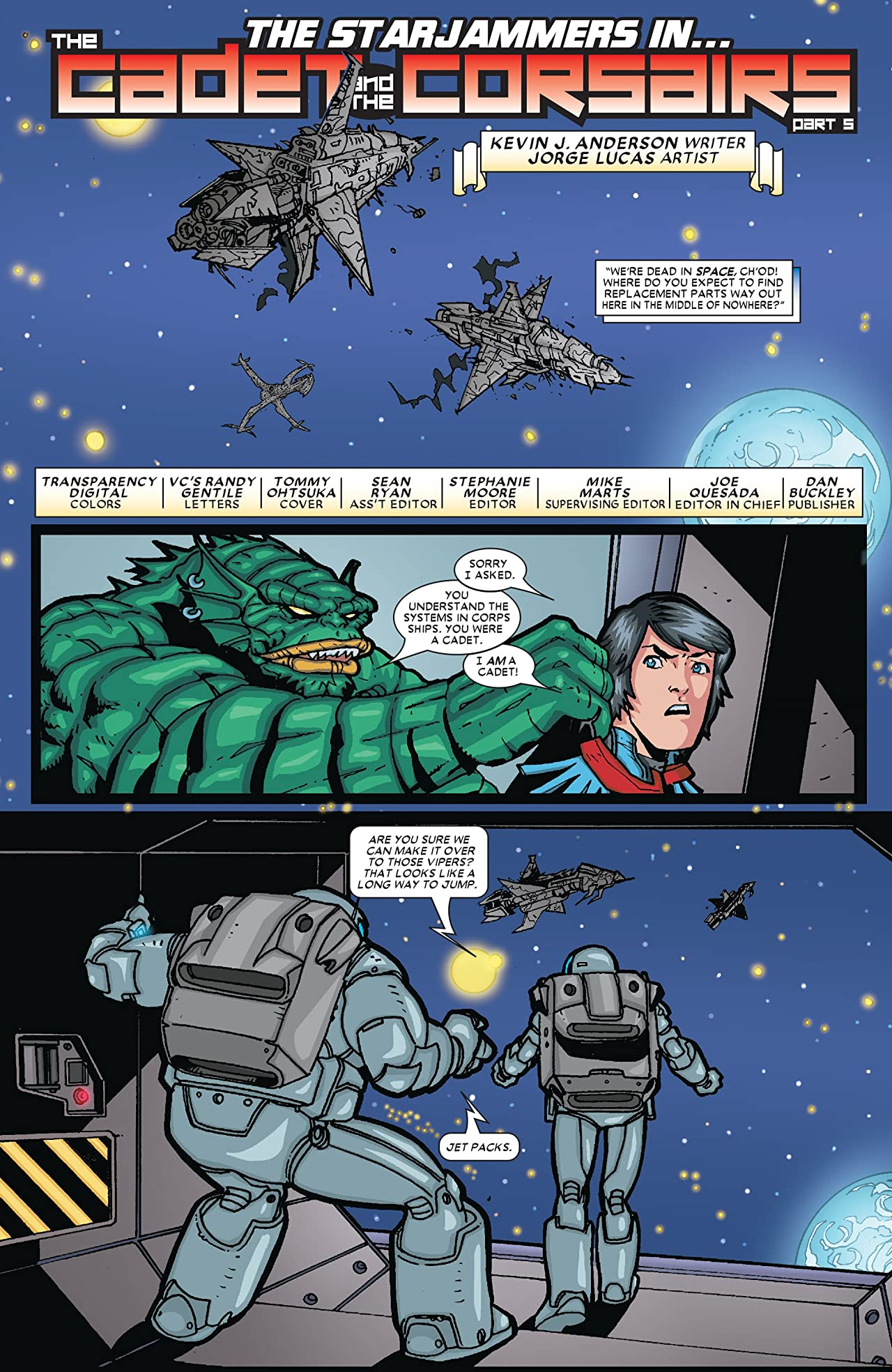Starjammers (2004) #5 (of 6)