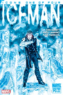 X-Men Icons: Iceman (2001-2002) No.1 (sur 4)