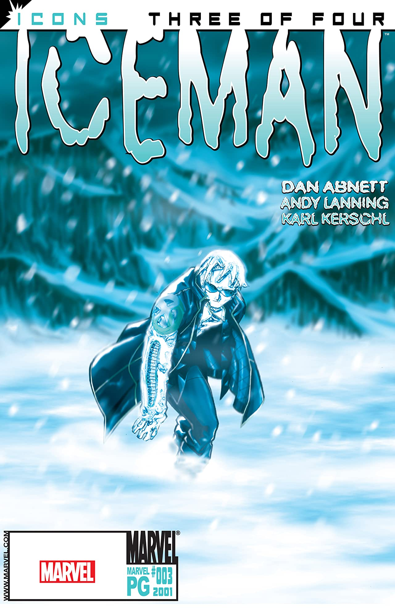 X-Men Icons: Iceman (2001-2002) #3 (of 4)