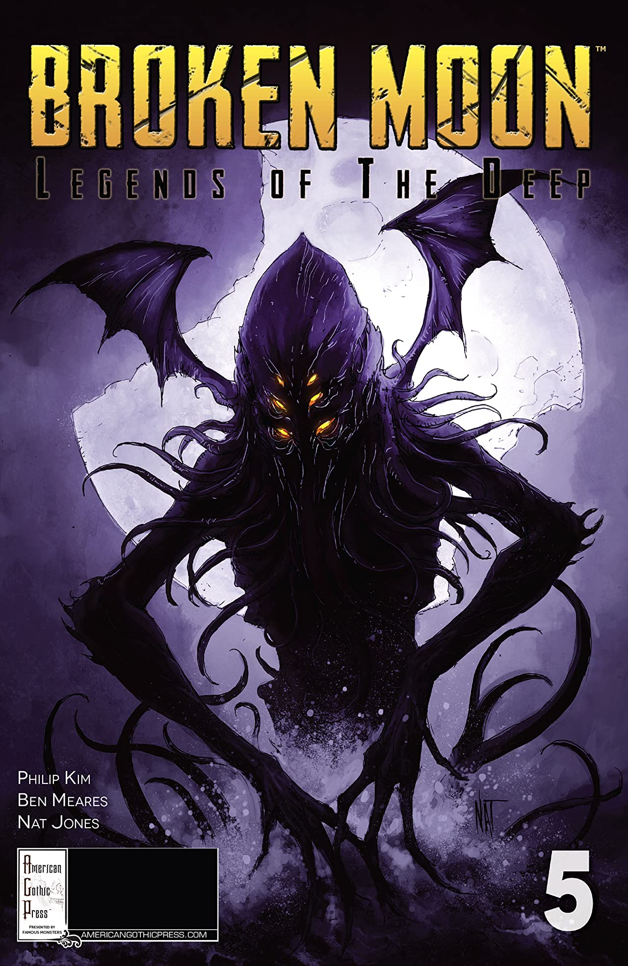 Broken Moon: Legends of the Deep #5