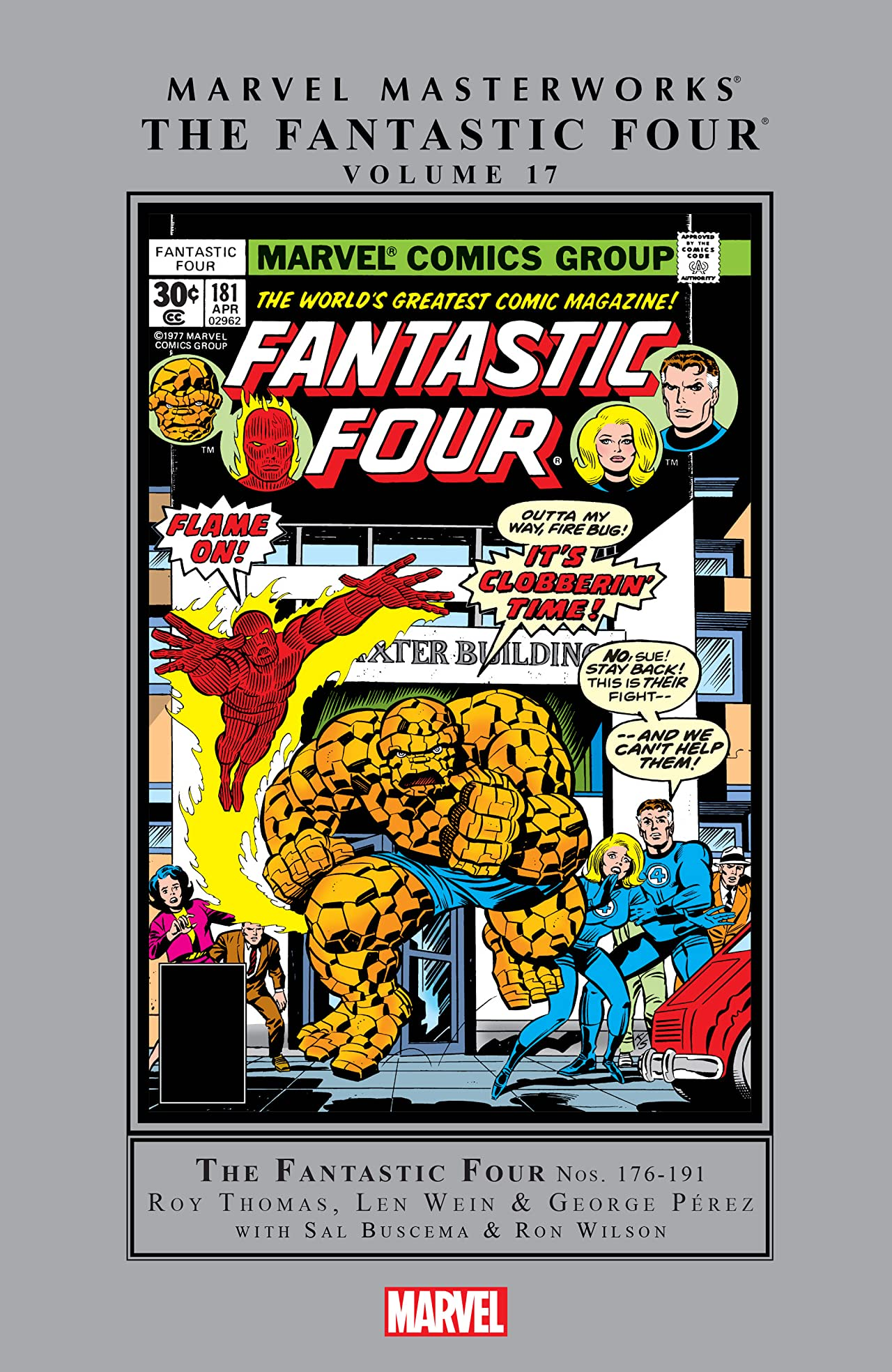 Fantastic Four Masterworks Vol. 17