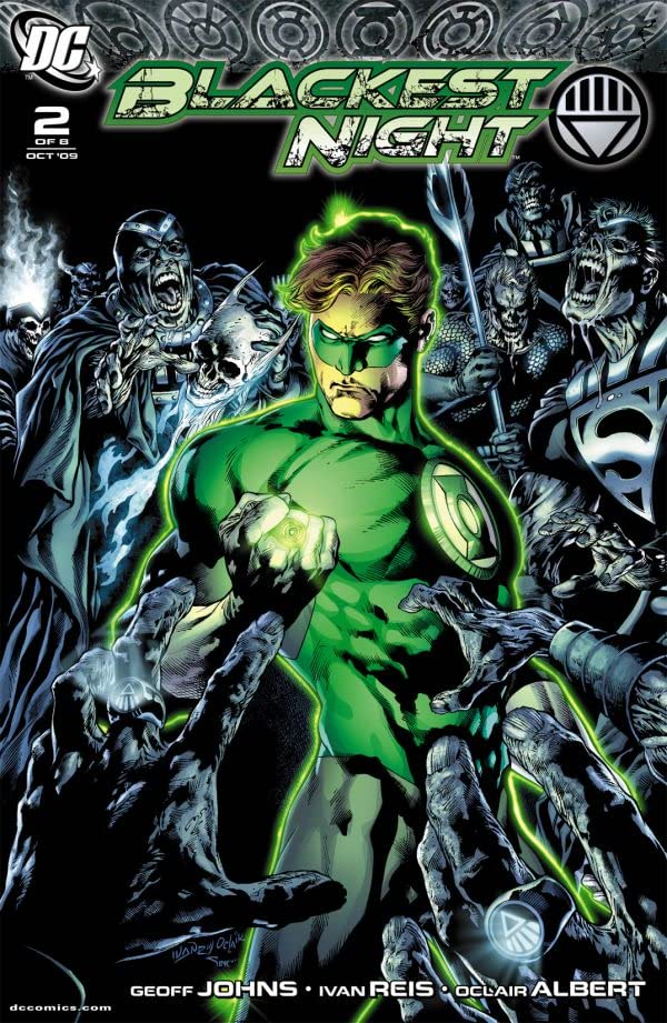 Blackest Night #2 (of 8)