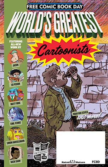 FCBD World's Greatest Cartoonists