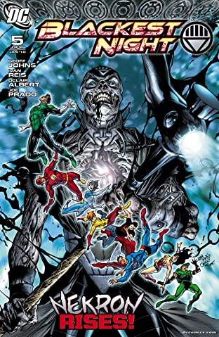 Blackest Night No.5 (sur 8)