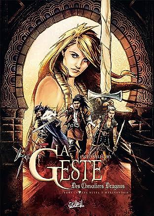 La Geste des Chevaliers Dragons Vol. 24: Les Nuits d'Haxinandrie