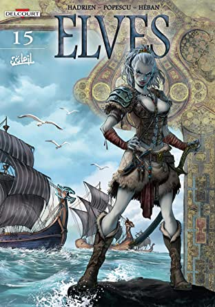 Elves Tome 15: Black as Blood