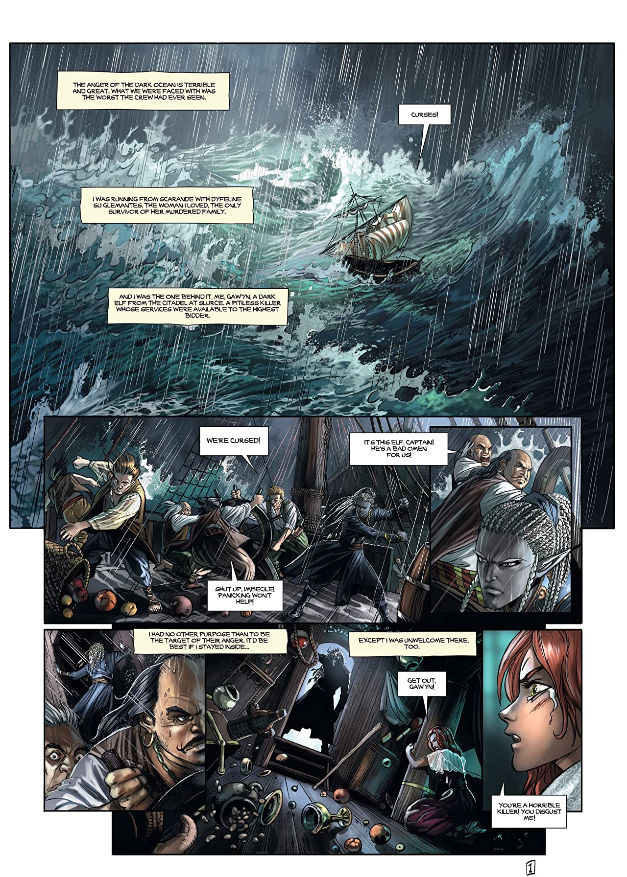Elves Vol. 15: Black as Blood