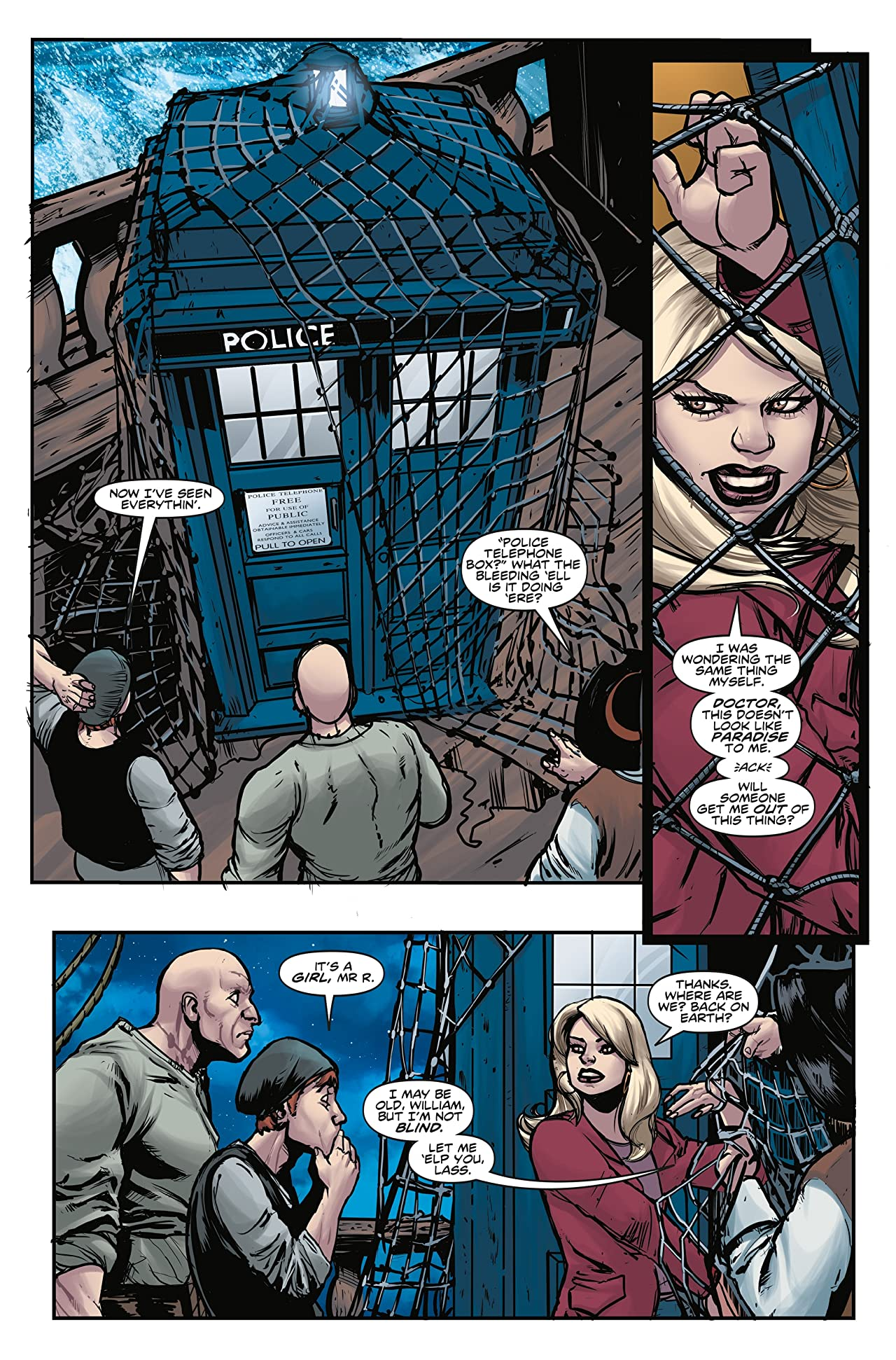 Doctor Who: The Lost Dimension #2: The Ninth Doctor Special