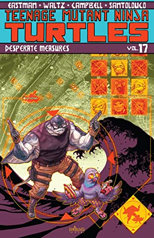 Teenage Mutant Ninja Turtles Tome 17: Desperate Measures