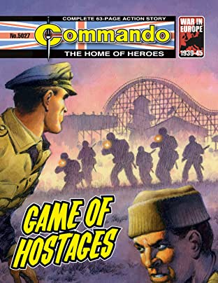 Commando #5027: Game Of Hostages