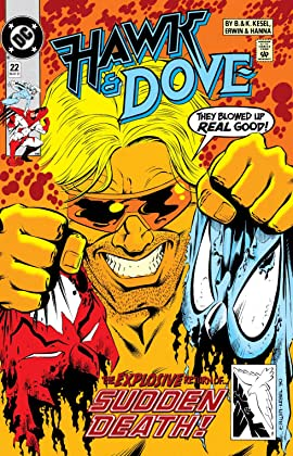 Hawk and Dove (1989-1991) #22