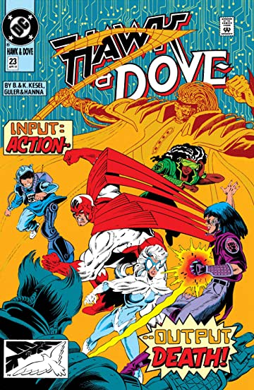 Hawk and Dove (1989-1991) #23
