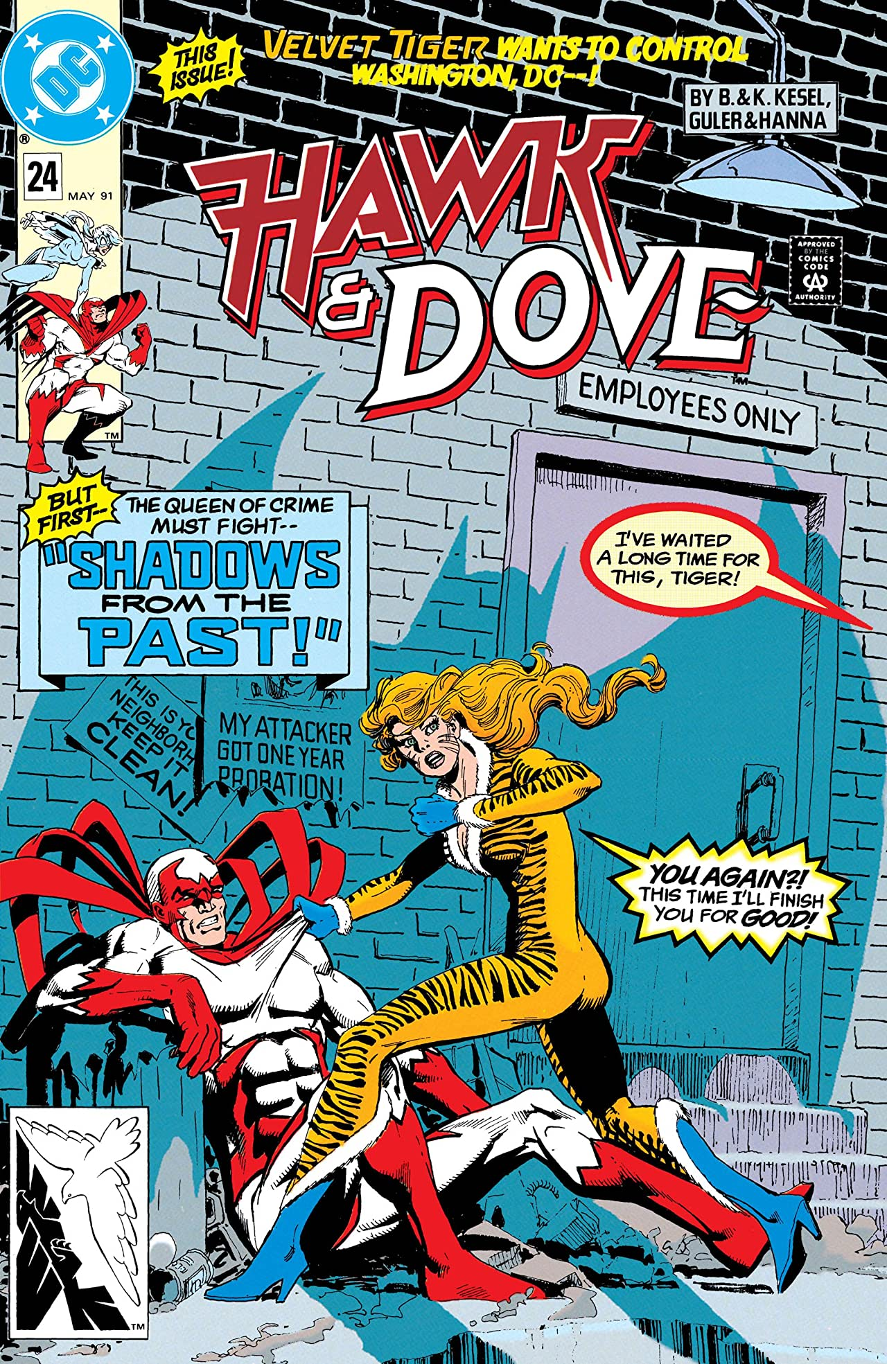 Hawk and Dove (1989-1991) #24