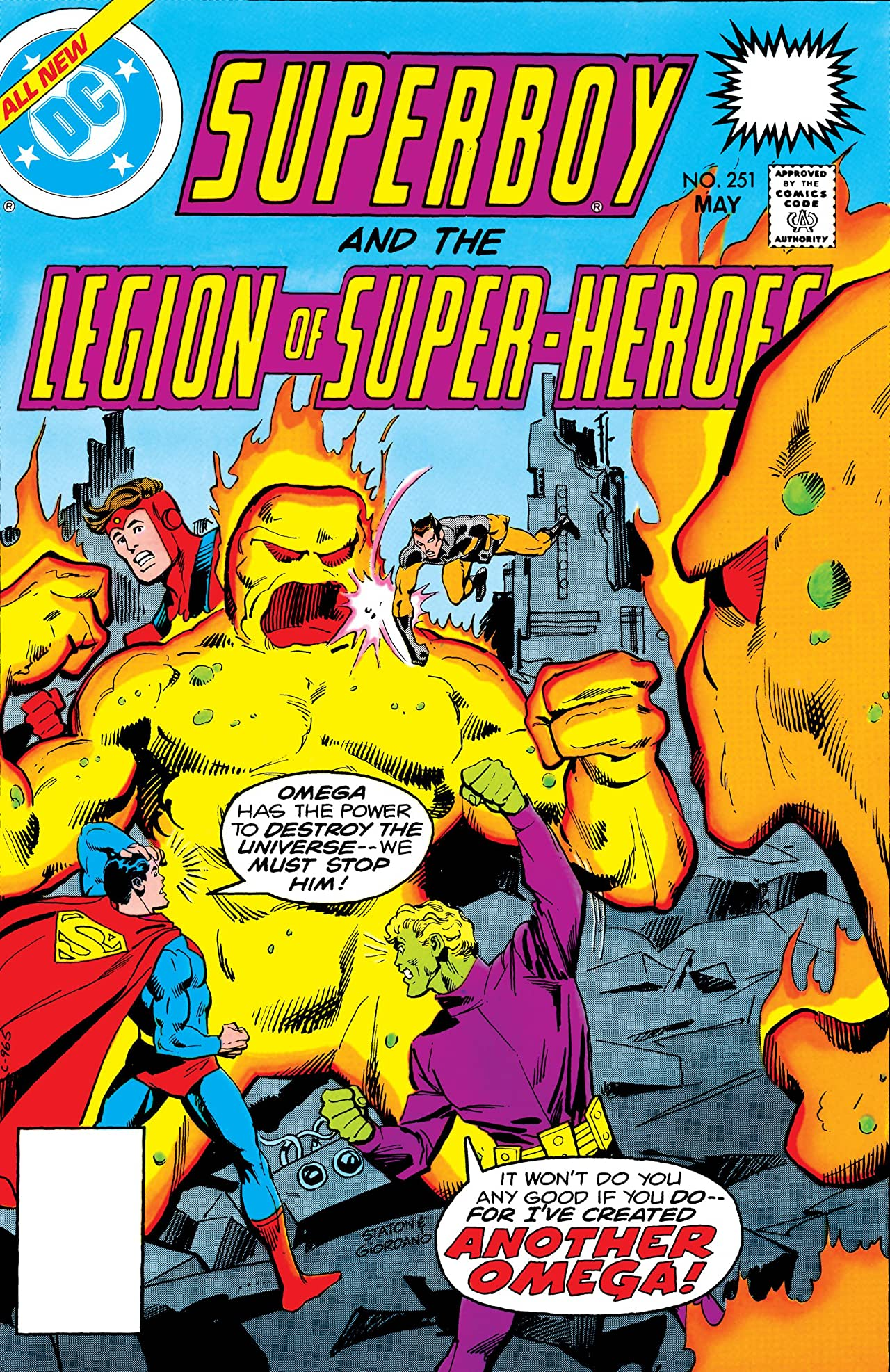 Superboy and the Legion of Super-Heroes (1949-1979) #251