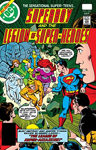 Superboy and the Legion of Super-Heroes (1949-1979) #253