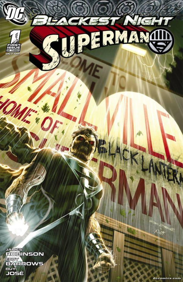 Blackest Night: Superman #1 (of 3)