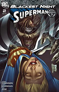 Blackest Night: Superman No.2 (sur 3)
