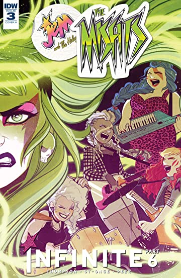 Jem and the Holograms: The Misfits: Infinite No.3