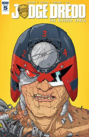Judge Dredd: The Blessed Earth No.5