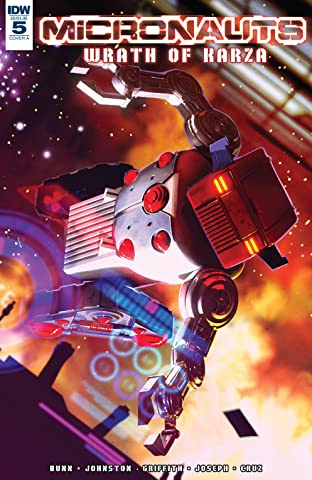 Micronauts: Wrath of Karza No.5 (sur 5)