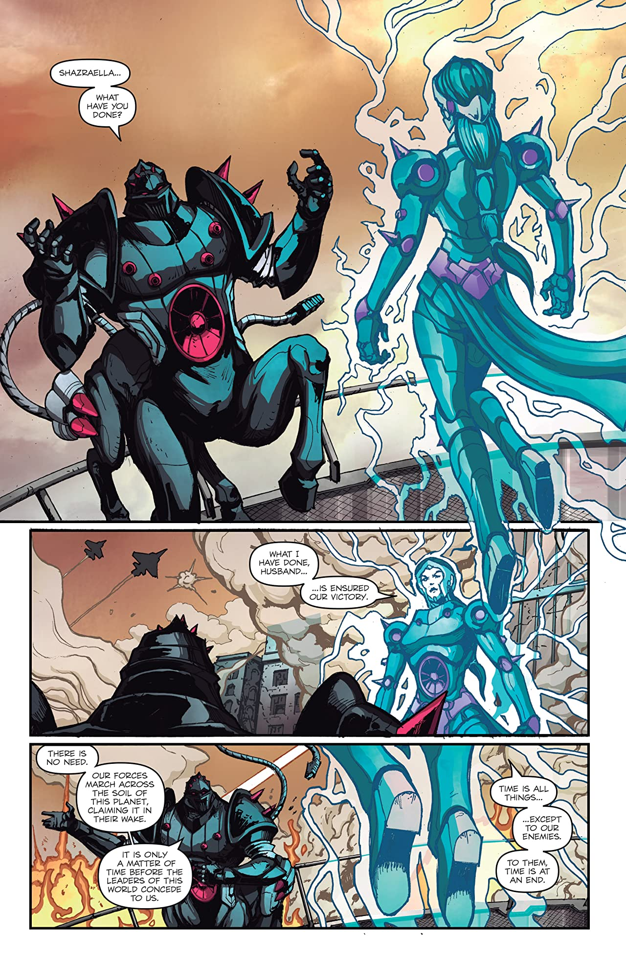 Micronauts: Wrath of Karza #5 (of 5)