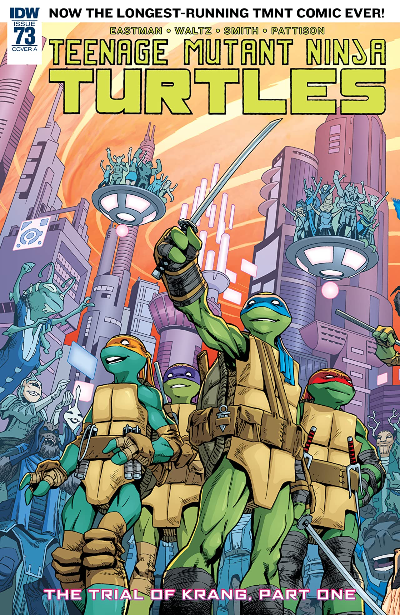 Teenage Mutant Ninja Turtles #73