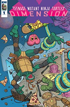 Teenage Mutant Ninja Turtles: Dimension X #1