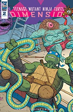 Teenage Mutant Ninja Turtles: Dimension X #2