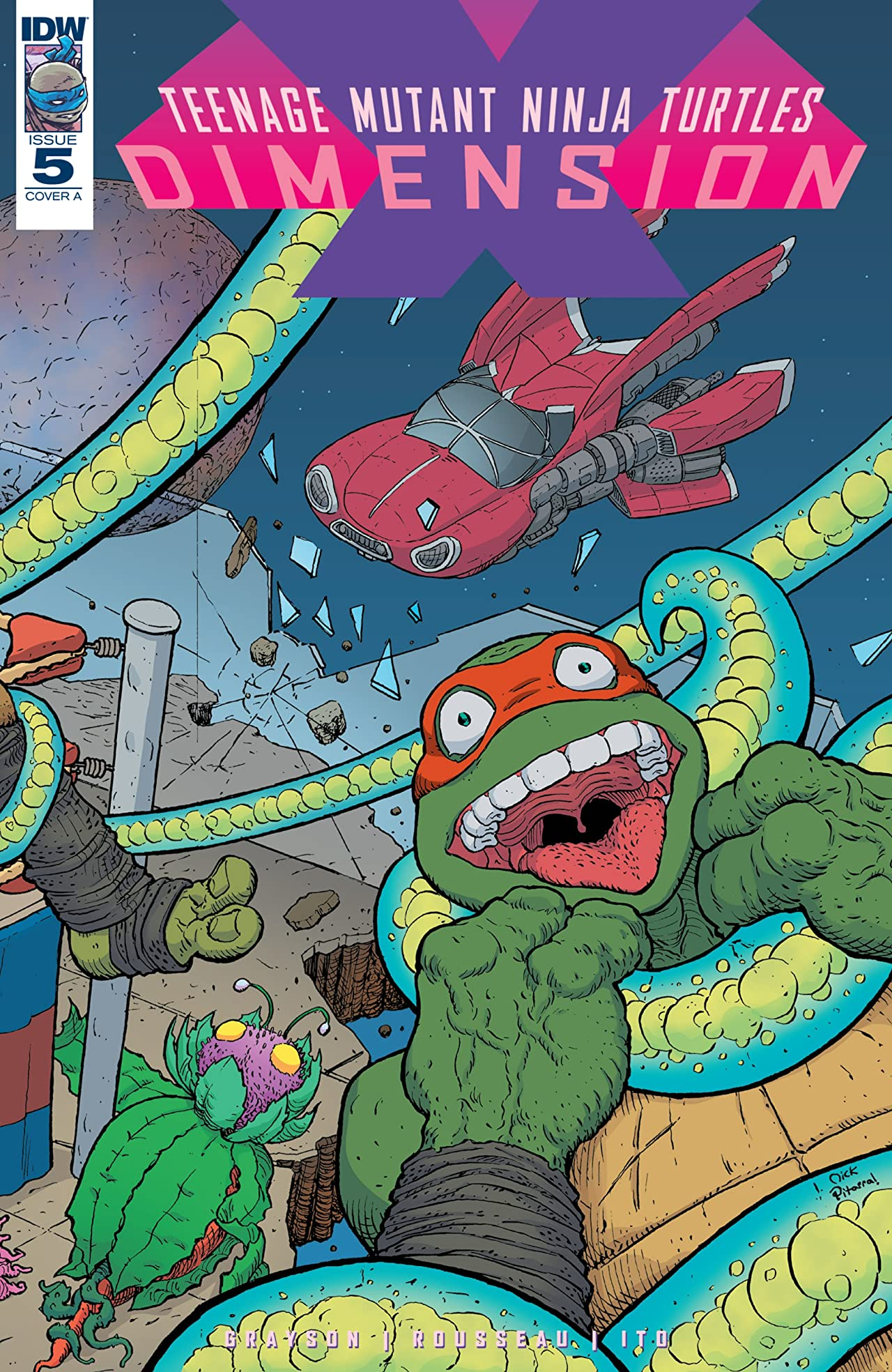 Teenage Mutant Ninja Turtles: Dimension X #5