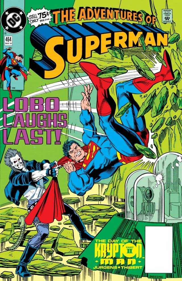 Adventures of Superman (1986-2006) #464
