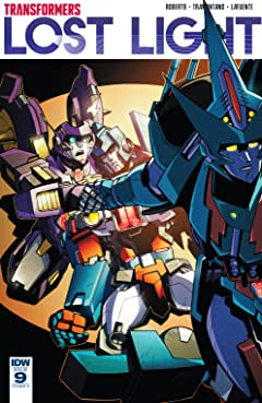 Transformers: Lost Light #9