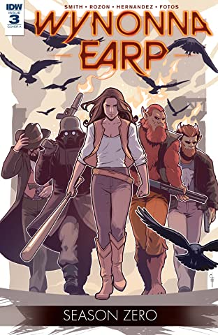 Wynonna Earp: Season Zero #3 (of 5)