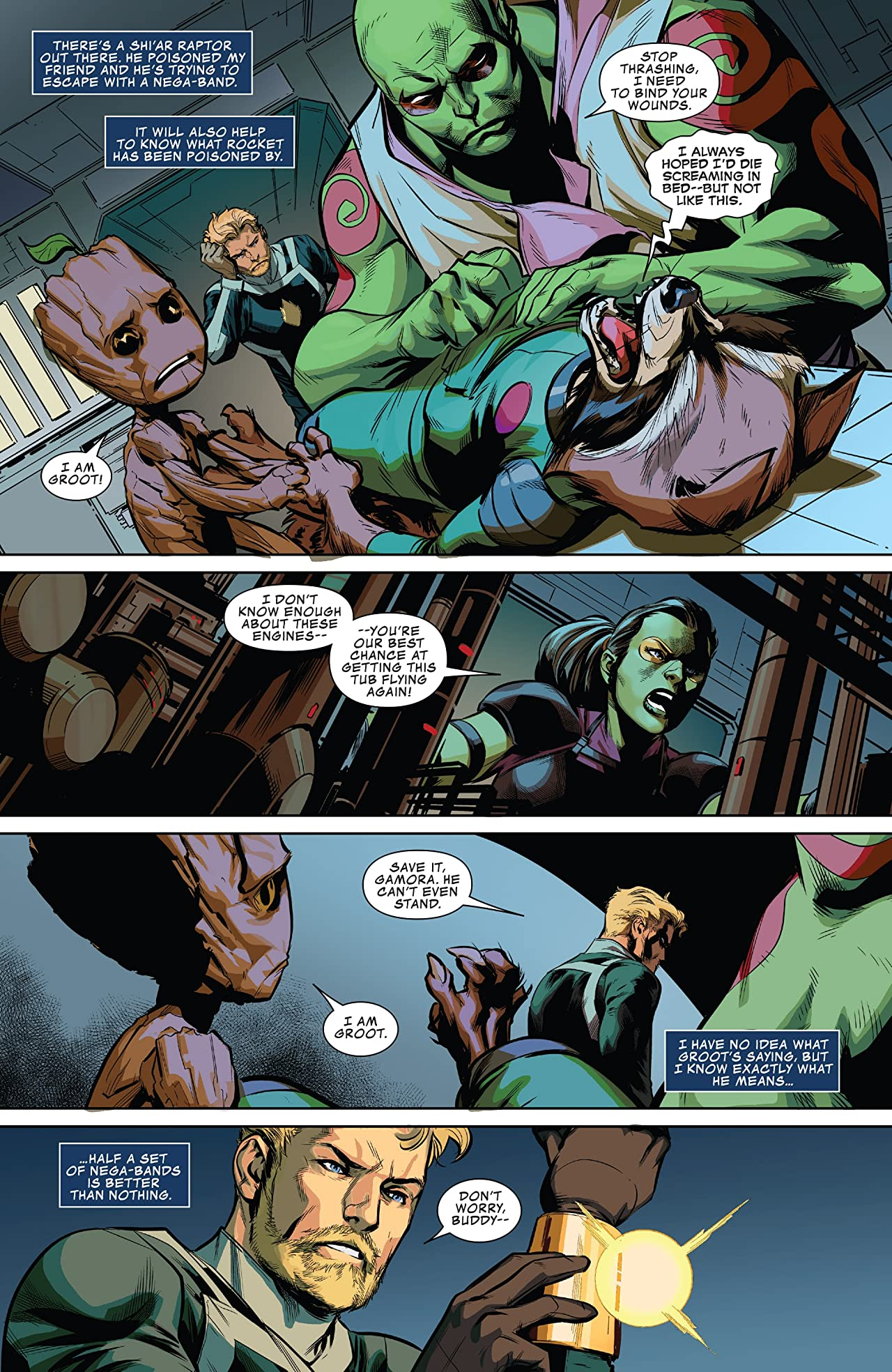 All-New Guardians Of The Galaxy (2017-2018) #8
