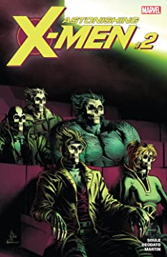 Astonishing X-Men (2017-2018) #2