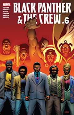 Black Panther And The Crew (2017) No.6