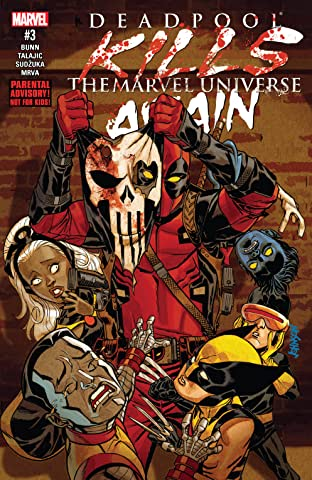 Deadpool Kills The Marvel Universe Again (2017) No.3 (sur 5)