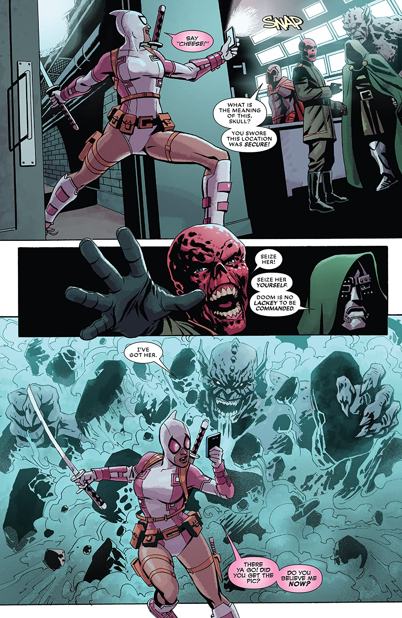 Deadpool Kills The Marvel Universe Again (2017) #3 (of 5)