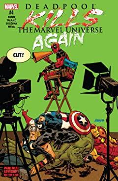 Deadpool Kills The Marvel Universe Again (2017) No.4 (sur 5)