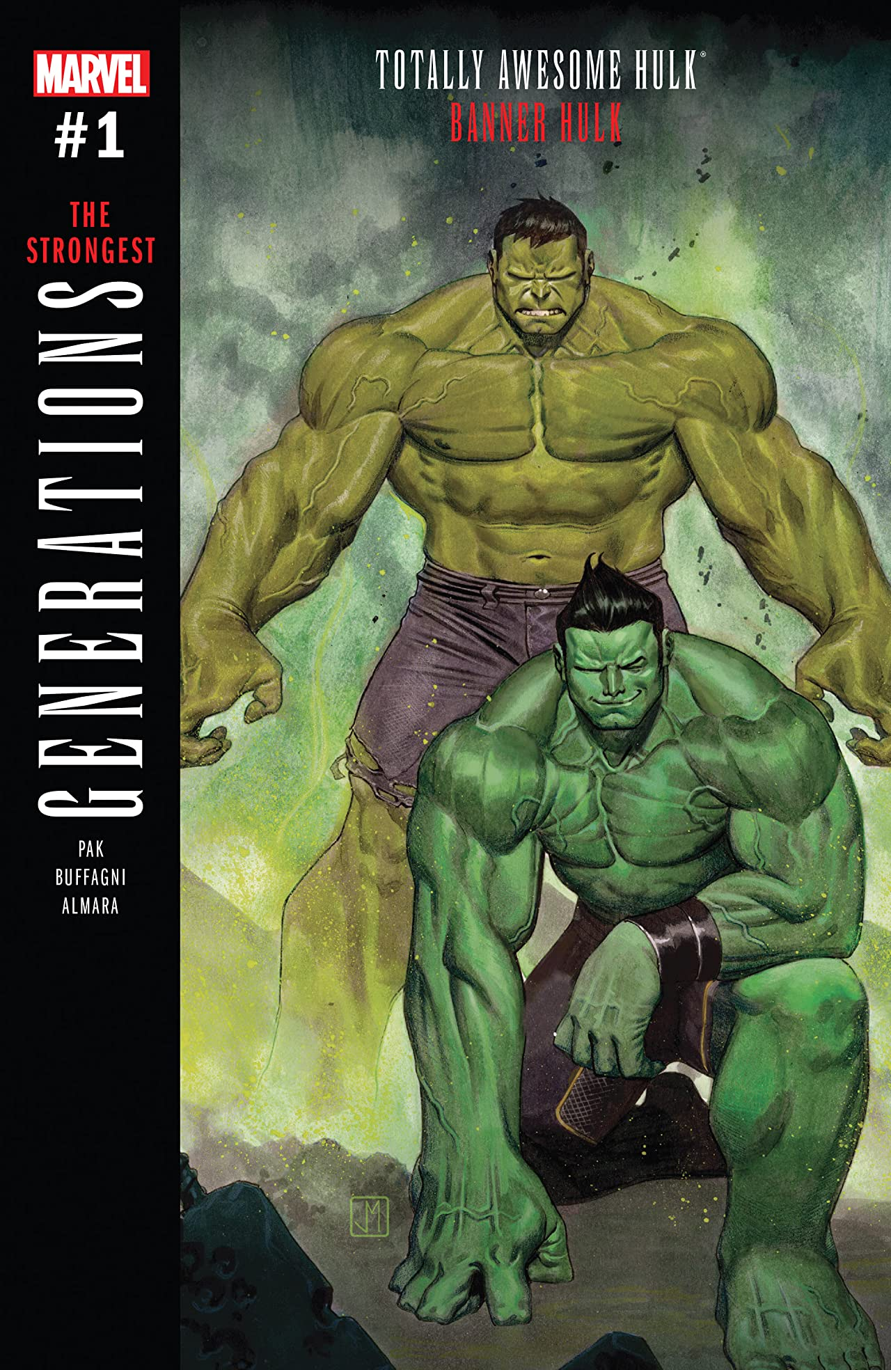 Generations: Banner Hulk & The Totally Awesome Hulk (2017) #1