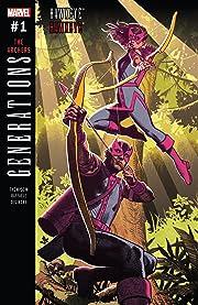 Generations: Hawkeye & Hawkeye (2017) #1