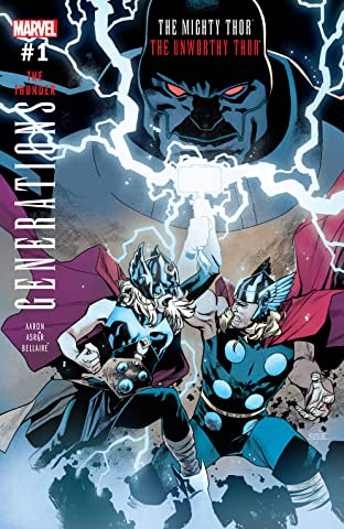 Generations: The Unworthy Thor & The Mighty Thor (2017) No.1