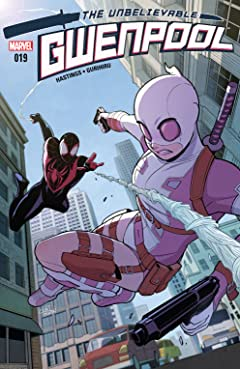 Gwenpool, The Unbelievable (2016-) #19