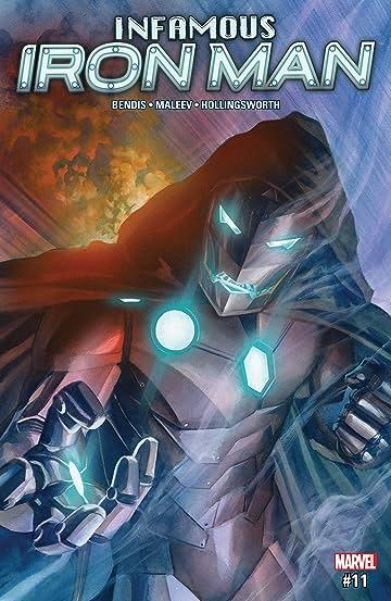 Infamous Iron Man (2016-2017) #11