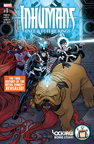 Inhumans: Once And Future Kings (2017) No.1 (sur 5)