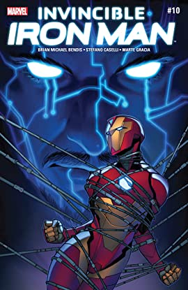 Invincible Iron Man (2016-2018) #10
